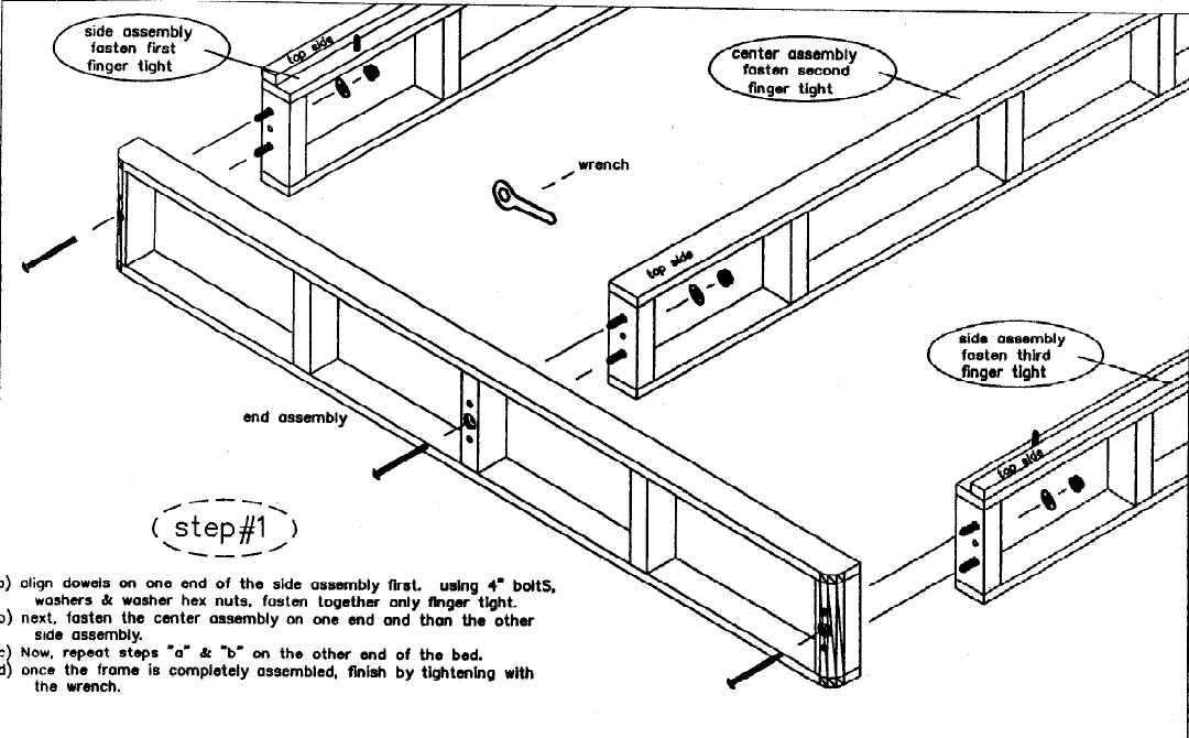 Easy Fit Box Spring Assembly Instructions